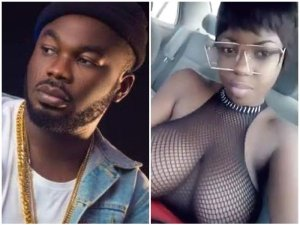 Slimcase Goes Crazy, As Lady Fingers Herself On His IG Live (Video)