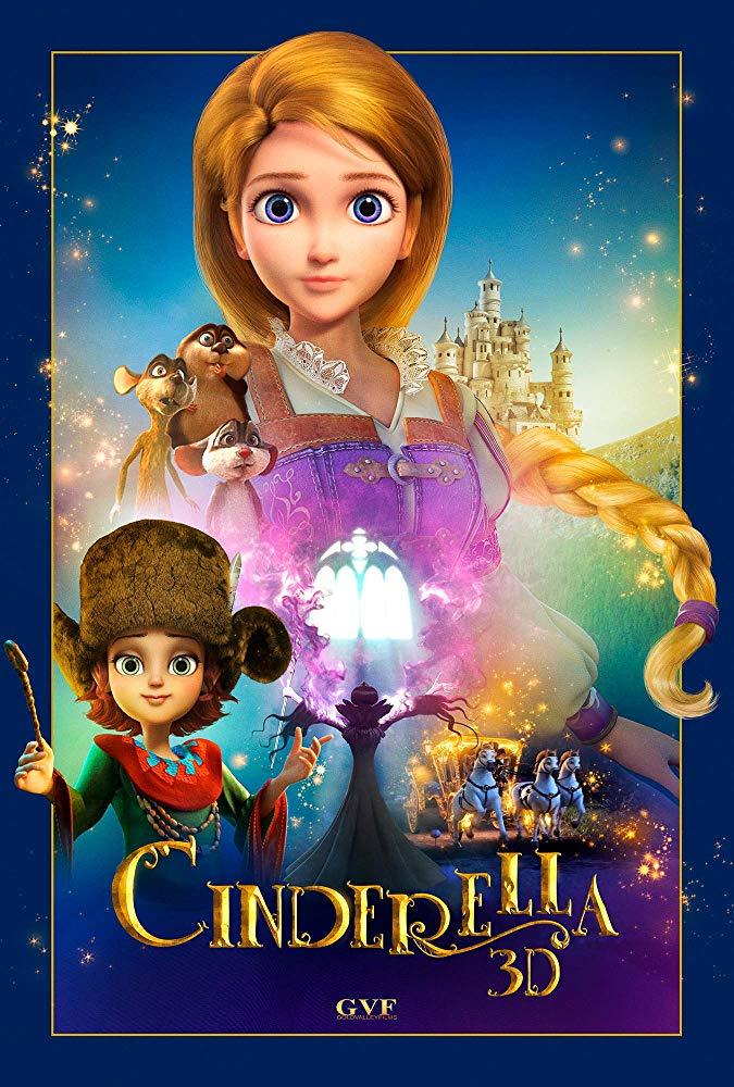 Cinderella and the Secret Prince (2018) [DVDRip]