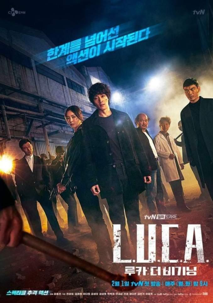 L.U.C.A.: The Beginning Season 1 Episode 1 (Korean Drama)