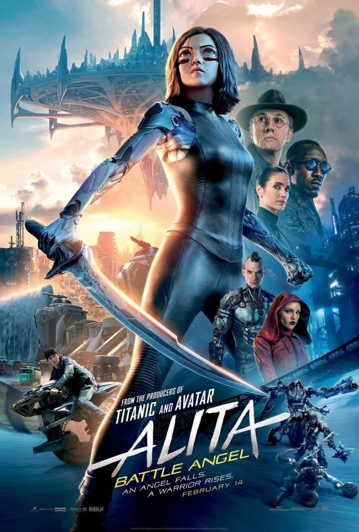 Alita: Battle Angel (2019) - Hollywood Movie
