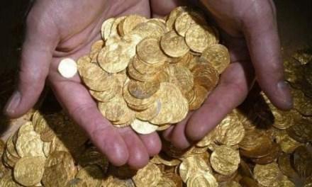 Israel. Encuentran un tesoro por accidente