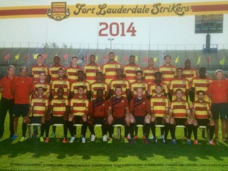 The 2014 Strikers team made the Soccer Bowl. The team was quickly dismantled.