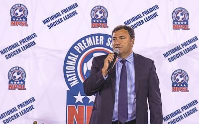 NPSL Commissioner Joe Barone