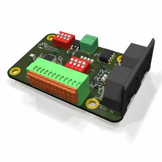 MIDI controller analoge ingangen