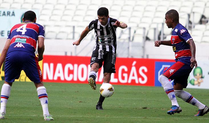 O gol marcado por Magno Alves pode ser decisivo, afinal, o Vozão precisa de uma vitória simples