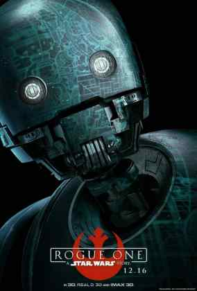 rogue-one-a-star-wars-story-k-2so-droid-poster_xnka.640 STAR WARS: ROGUE ONE TEM PÔSTERS DE PERSONAGENS REVELADOS
