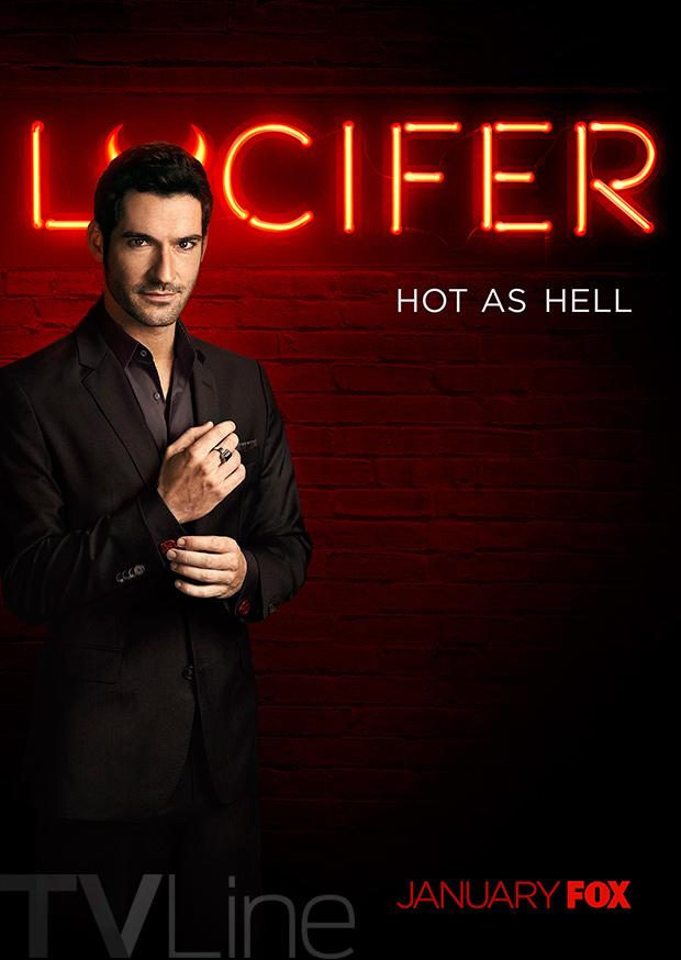 lucifer-poster-fox Lucifer | Segunda temporada da série terá mais nove episódios