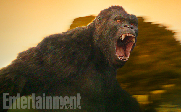 Kong Foto revela visual do novo King Kong em Kong: A Ilha da Caveira