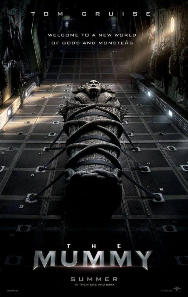 mummyposter-647x1024 A Múmia | Novo filme estrelado por Tom Cruise ganha pôster e teaser inédito