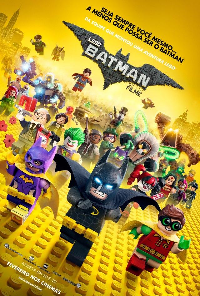 LEGO-Batman-O-Filme-Poster-Final LEGO BATMAN™ – O FILME GANHA NOVA ARTE REPLETA DE HERÓIS E VILÕES
