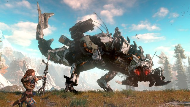 horizon-zero-dawn-screen-01-us-15jun15 Confira impressões e gameplay de Horizon Zero Dawn para PS4