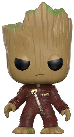FUN12774-GotG2-Baby-Groot-Ravager-Angry-Pop Promoção | Concorra a 1 Funko Pop Baby Groot