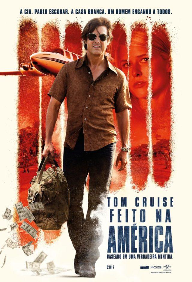 feitoamerica-697x1024 FEITO DE AMÉRICA | FILME COM TOM CRUISE E DOMHNALL GLEESON, TEM TRAILER E CARTAZ DIVULGADO