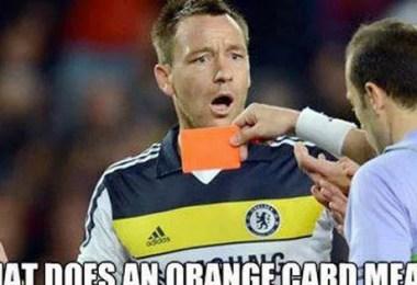 cartao laranja - A possível chegada do Cartão laranja ao futebol
