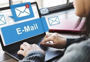 primeiro Tipos de email - Primeira reportagem sobre Correio Eletrônico (e-mail) do Brasil