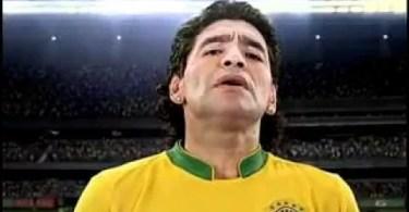 Fotos, Curiosidades, Comunicação, Jornalismo, Marketing, Propaganda, Mídia Interessante Maradona Comercial do Mc Donalds dos Estados Unidos diferentes do Brasil Comerciais