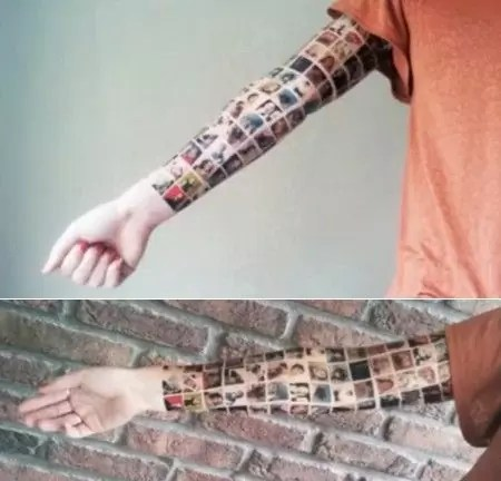 "tatoo face - ""My Social Tatoo"" A influência do Facebook"