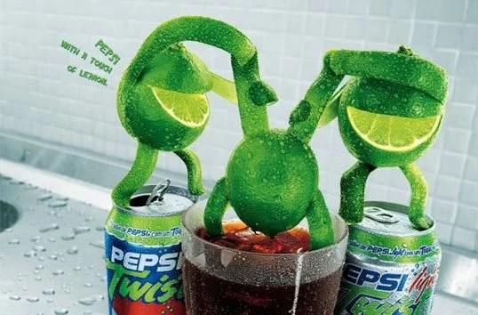 Pepsi Twist.jpg.0 - 10 Comerciais que marcaram a publicidade nos anos 2000