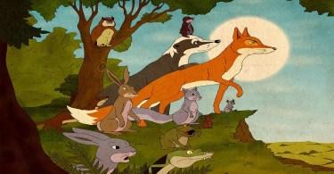 animais dos bosque dos vinetnes