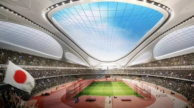 japao estadio olimpiadas2 - Como ser um voluntário nas Olimpíadas de Tóquio 2020?