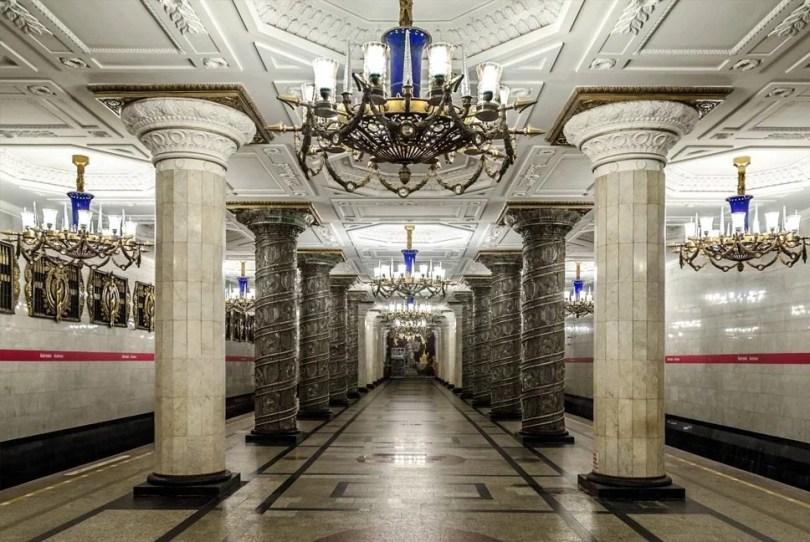 linha russia - Curiosidades sobre o Metropolitano (Metrô) no mundo