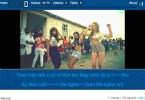 lyrics3 - Dica de site para aprender inglês com clipes de música