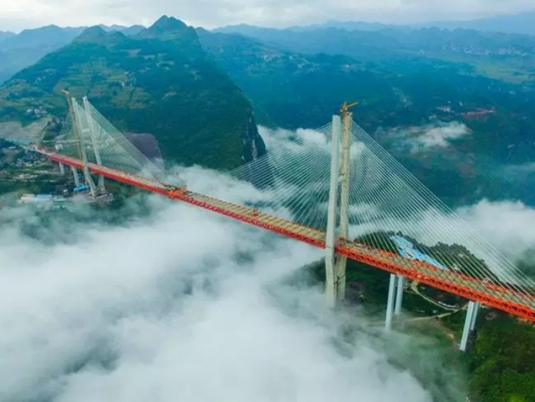 Fotos, Curiosidades, Comunicação, Jornalismo, Marketing, Propaganda, Mídia Interessante ponte-mais-alta-do-mundo4 Qual é a ponte suspensa mais alta do mundo? Curiosidades  Qual é a ponte suspensa mais alta do mundo?