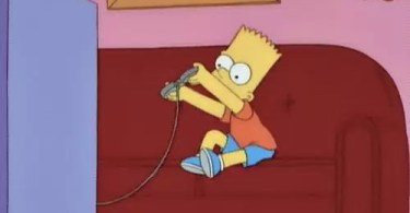bart jogando video game - Trailer do Need for Speed Payback