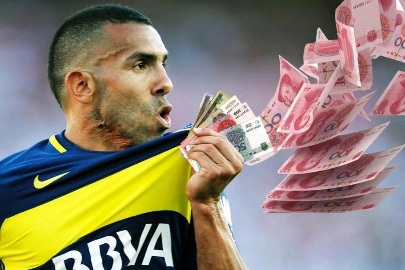 carlitos tevez - Lista: Quem são os jogadores mais bem pagos de 2017