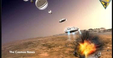 schiparelli crash - AO VIVO: Terra vista do espaço pela Estação espacial Internacional ISS