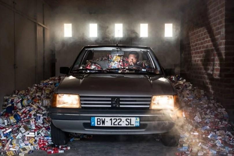 4 years trash 365 unpacked photographer antoine repesse 5 594910d6315d5  880 - Homem acumulou seus lixos recicláveis durante 4 anos