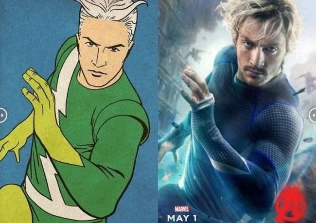 Avengers originales comparados con los poster de la película 4 730x516 650x459 - Fotos dos super-heróis da Marvel que foram copiadas dos quadrinhos