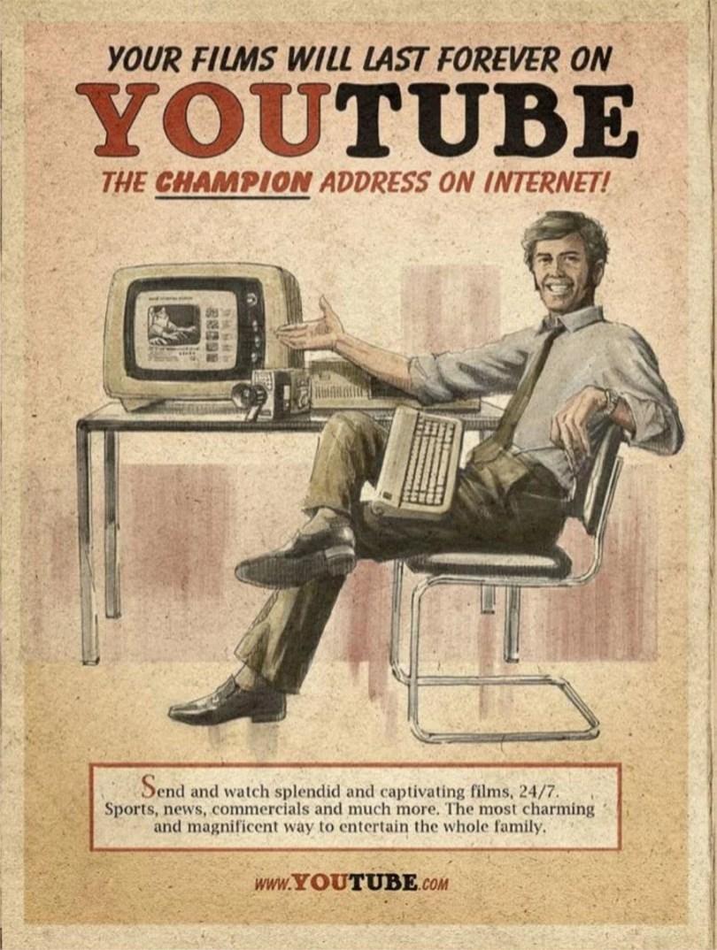 anuncios antiagamente 2 - Como seria o marketing das Redes Sociais se fossem antigamente?
