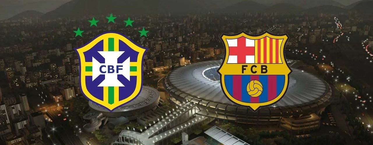 barcelona brasil - O jogo da década que ninguém se lembra: Brasil 2 x 2 Barcelona
