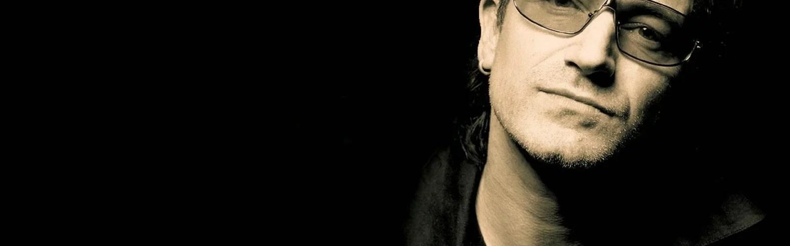 """bono vox vocalista da banda u2 wallpaper 1600x1000 - Depois de 6 anos """"U2"""" voltou ao Brasil sem o ORKUT, sem beijo e sem Globo"""