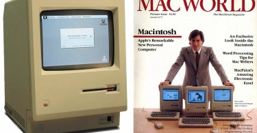 first macintosh steve jobs macworld cover - Apple recebe autorização para Internet 5G