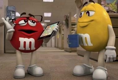 Fotos, Curiosidades, Comunicação, Jornalismo, Marketing, Propaganda, Mídia Interessante mms Evolução dos primeiros comerciais de M&M's até os dias de hoje Comerciais Lembranças  mem's M&M's m e m's comerciais antigos mm's
