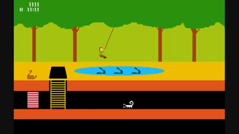 Fotos, Curiosidades, Comunicação, Jornalismo, Marketing, Propaganda, Mídia Interessante pitfall-atari Atari Flashback a primeira versão do Atari Games