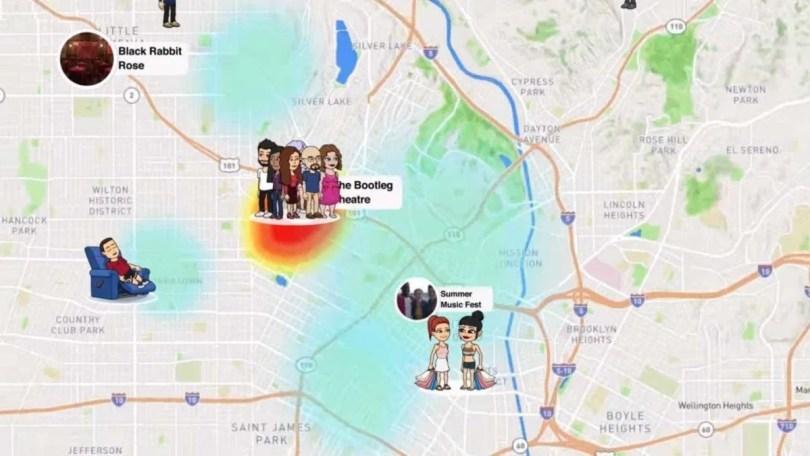 snap map - BBC: Atualização do Snapchat que permite ver a localização é preocupante