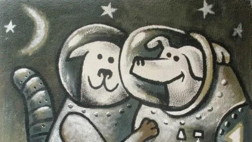 animais no espaço soviet space dogs2 - Fatos Interessantes sobre as cadelinhas no espaço