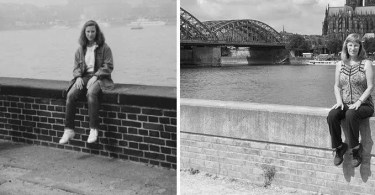 foto antes e depois mulher 30 anos depois - Fotógrafo compra câmera de 1929 e acha negativo dentro