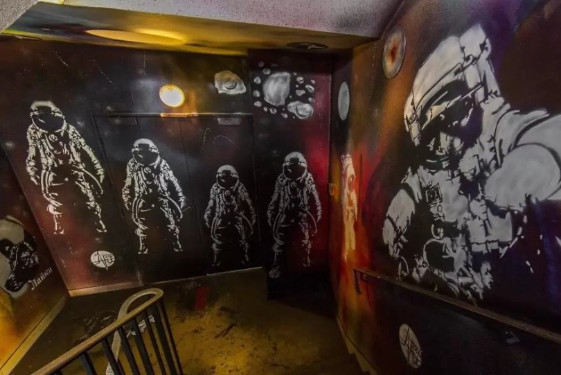 grafite pinturas artistas 39 - Grafiteiros pintam uma residência estudantil e o resultado chama atenção