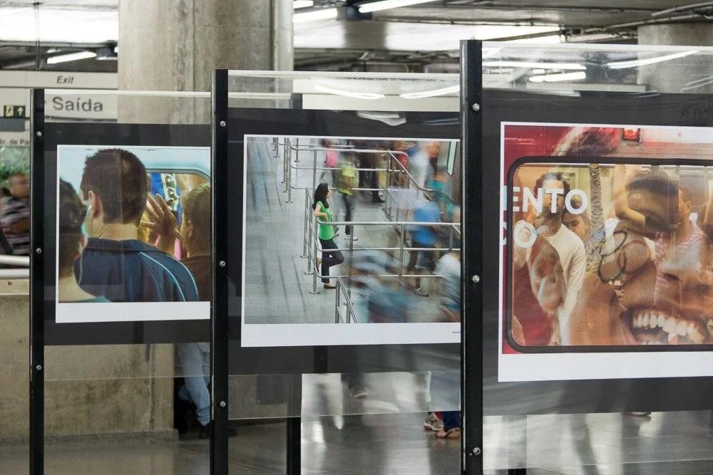 metro de são paulo sp fotos estação trem cidade metropolitano de passagem - Fotógrafo brasileiro captura momentos do cotidiano em Metrô de São Paulo