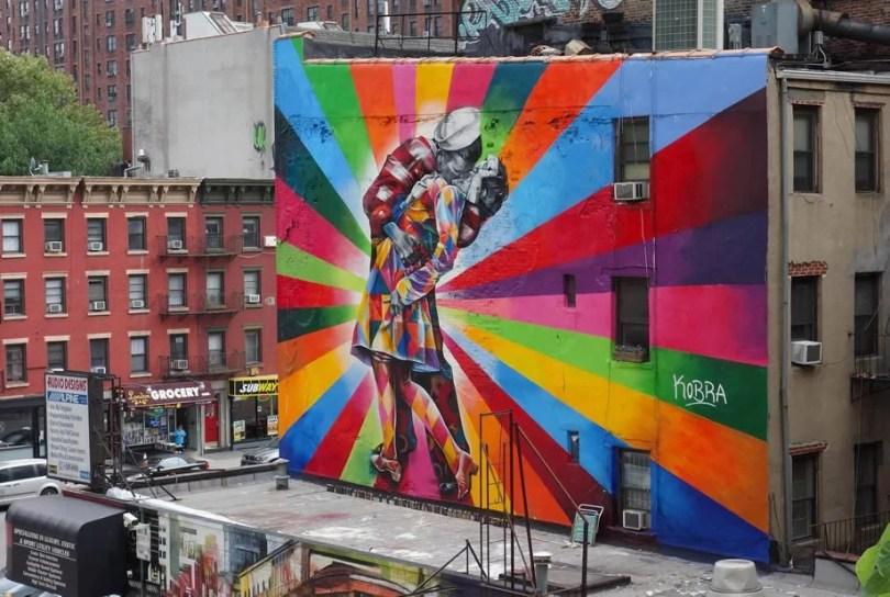 kobra mural 3 - Murais de Graffiti de Eduardo Kobra pelo mundo