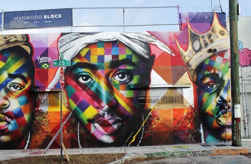 kobra mural 7 - Murais de Graffiti de Eduardo Kobra pelo mundo