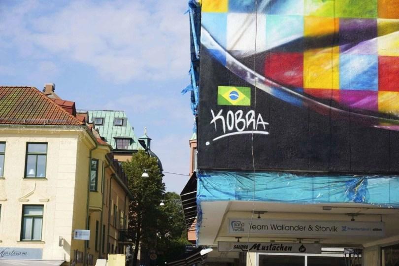 kobra suecia 04 - Murais de Graffiti de Eduardo Kobra pelo mundo