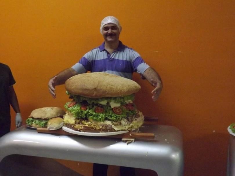 maior sanduíche