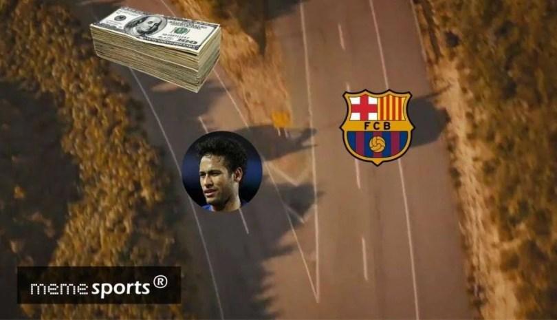 memes neymar psg barcelona - Memes na Internet sobre transferencia de Neymar ao PSG