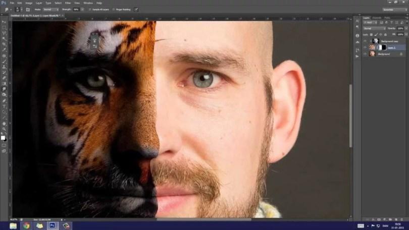 Imagens de editadas no Photoshop