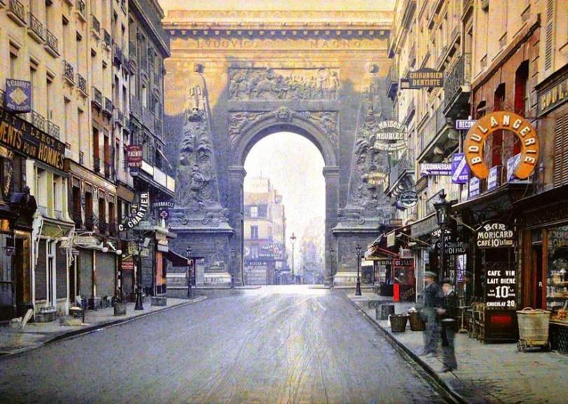 vintage color photos paris albert kahn 108  880 - Fotos Vintages de Paris em cores durante a belle Époque